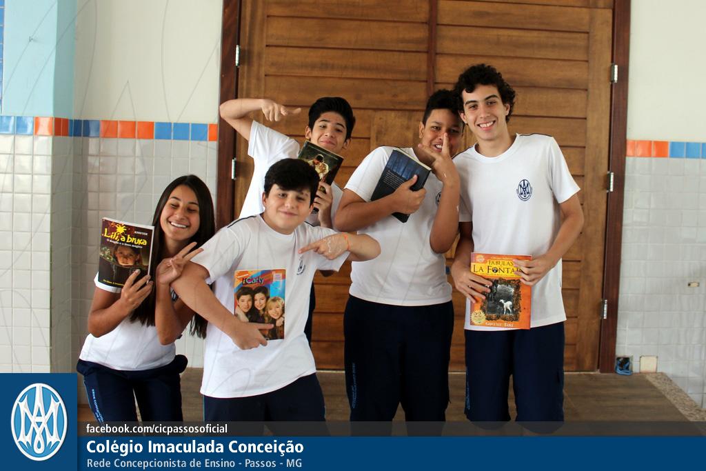 Você está vendo imagens do artigo: Ens. Fundamental e Médio: Dia Nacional do Livro